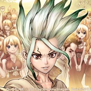 Le manga Dr. Stone adapté en anime pour l'été 2019