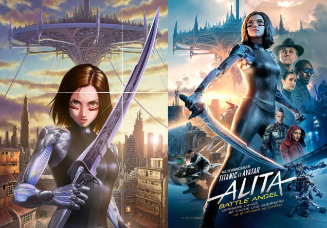 Alita: Battle Angel (Gunnm) : Meilleur film live adaptant un anime