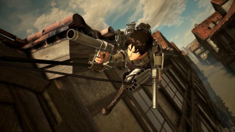 Attack on Titan 2 (Attaque des Titans) – Final Battle : Vidéos de démonstration de l'équipement Tridimensionnel Anti-humains dans le jeu
