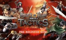 L'Attaque des Titans : Attack on Titan TACTICS le jeu en pré-enregistrement
