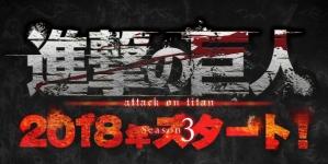 L'Attaque des Titans (Shingeki No Kyojin): Annonce de la saison 3 pour 2018