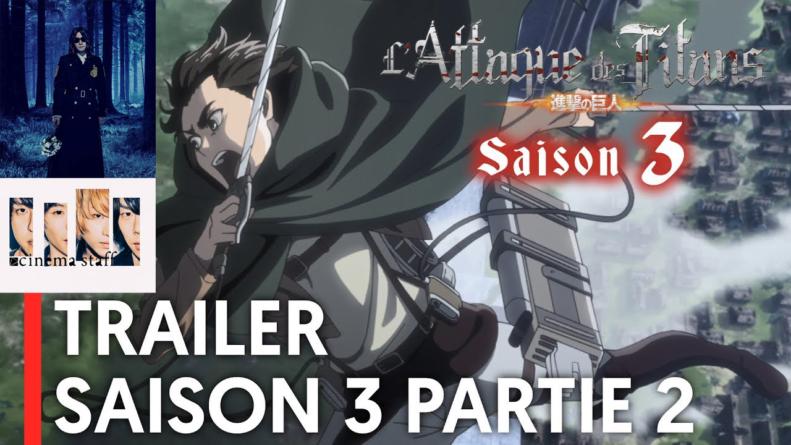 Attaque des Titans – Saison 3 : L'opening de la seconde partie sera par Linked Horizon et l'ending par Cinema Staff