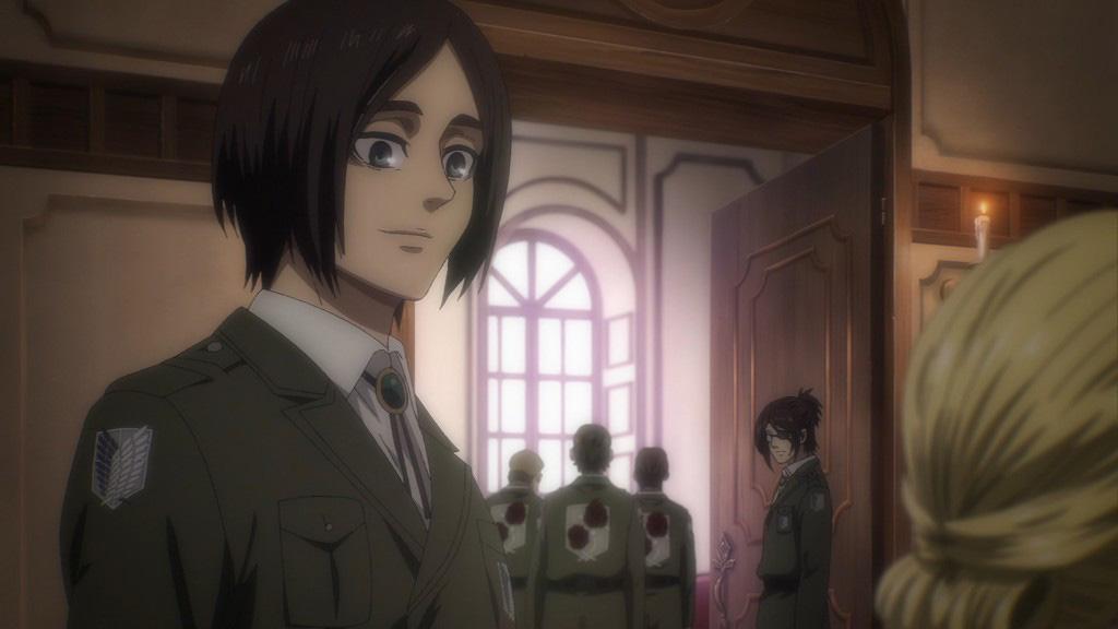 L'Attaque des Titans (Shingeki No Kyojin) épisode 10 – Saison 4 : « De beaux principes » - BleachMx