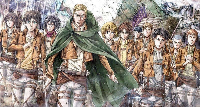 L'Attaque des Titans (Shingeki No Kyojin) : Titres des 4 premiers épisodes de la saison 3 Part. 2