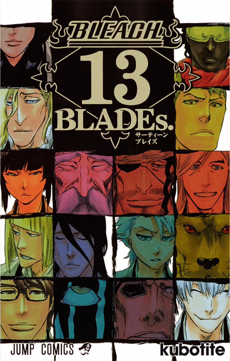Bleach 13 BLADEs - Cover HQ