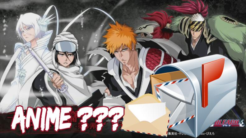 🤔Bleach anime : La Shueisha demande d'envoyer un courier pour un anime