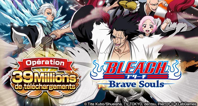 Bleach Brave Souls : Campagne des 39 millions de téléchargements