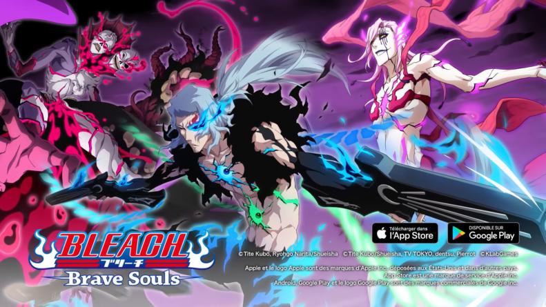 Bleach Brave Souls : Gameplays de Stark, Szayel Aporro, Aaroniero versions CFYOW