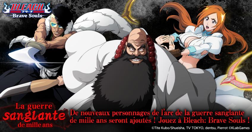 Bleach Brave Souls : Ichibei, Ôetsu et Orihime, Programme du Bankai Live de fin d'année