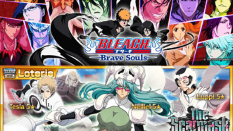 Bleach Brave Souls : La loterie de mi-janvier avec Nelliel, Tesla et Luppi. Moi je passe.
