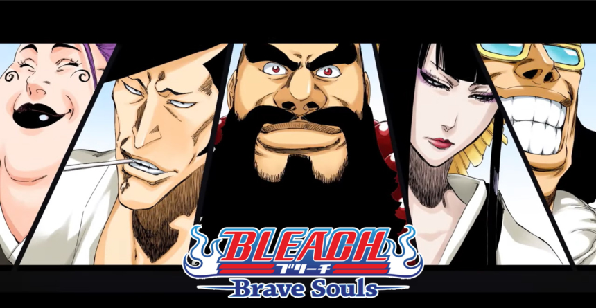 Bleach Brave Souls : Les SternRitters et la Garde Royale avec Ichibei, Ôetsu, Tenjirô, Hikifune et Shutara