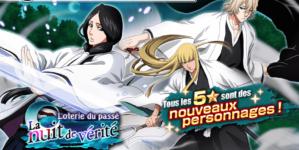 Bleach Brave Souls : Loterie de mi mai avec Unohana, Urahara et Shinji version Passé