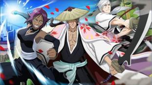 Bleach Brave Souls : Loterie de fin mars avec Kyôraku, Ukitake et Yoruichi version Passé