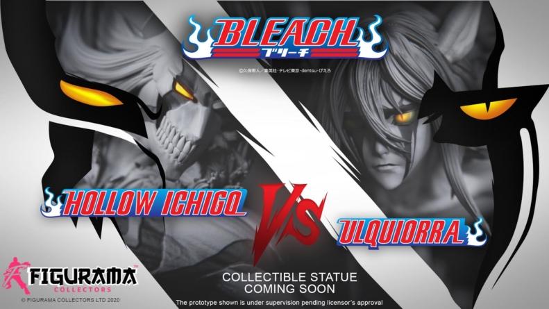 Bleach : Ichigo Hollow Vs Ulquiorra, la statuette de Figurama Collectors se dévoile