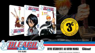 Bleach : Offre découverte pour le manga et dernières box de l'anime