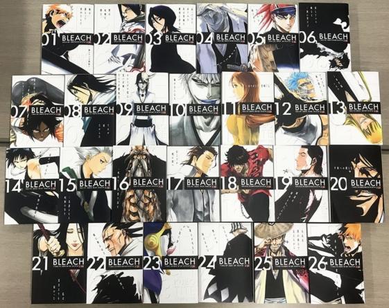 Bleach Remix: Toutes les couvertures et leurs sources de la réédition du manga