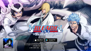 Bleach Brave Souls : Shinji en Bankai, Grimmjow et Luppi (CFYOW)