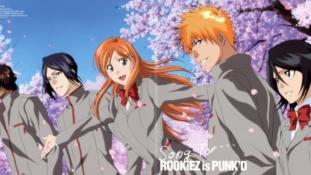 Le groupe ROOKiEZ is PUNK'D (qui a réalisé le 26e ending de Bleach) prend une pause à durée indéterminée
