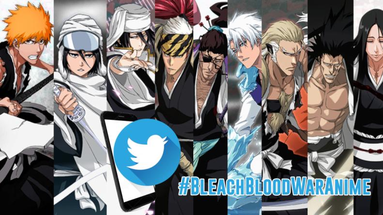 Bleach : La communauté a mis #BleachBloodWarAnime en Top Tendance sur Twitter