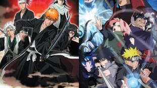 Bleach anime : Toujours la 5e licence la plus rentable de TV Tokyo, Naruto 1er