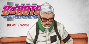 Boruto – Naruto Next Generations chapitre 45 : L'asile [REVIEW – IZNEO]