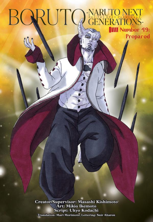 Boruto Naruto Next Generations chapitre 50
