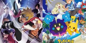 Boruto et Pokémon Soleil et Lune changent d'horaire de diffusion à partir d'Octobre