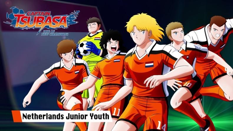 Captain Tsubasa: Rise of New Champions : L'équipe junior des Pays-Bas