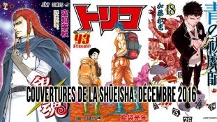 Couvertures de la Shueisha: Fin du mois de Décembre 2016