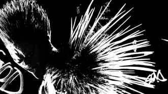 Death Note: Poster du film live de Netflix montrant Ryuk