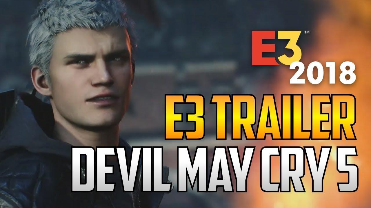 Devil May Cry 5 annoncé: Premier trailer !