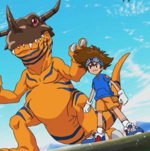 Digimon Adventure: épisode 5 : « Le Digimon sacré »