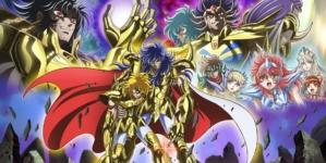 Saint Seiya: Saintia Shō: Visuel clé de l'anime qui sera diffusé sur Playstation