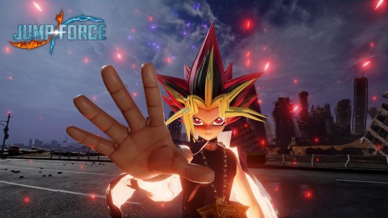 Jump Force accueille Yugi le pharaon de Yu-Gi-Oh!