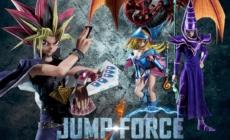 Jump Force: Yami Yugi aura le Magicien et la Magicienne des Ténèbres et Slifer avec lui