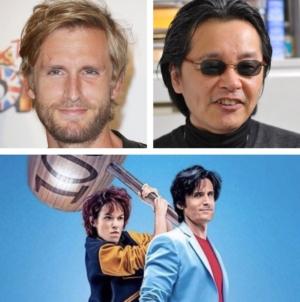 Tsukasa Hôjô (City Hunter) sera à @ComicCon_Paris avec Philippe Lacheau, pour le film Nicky Larson