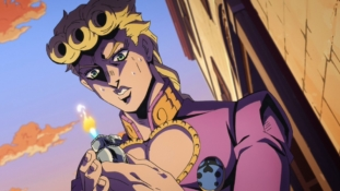 JoJo's Bizarre Adventure – Golden Wind épisode 3: « Le gangster en cage »