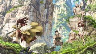 Dr. Stone : Nouvelle affiche et membres du staff de l'anime