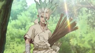 Dr. Stone : Doubles vidéos promotionnelles pour l'anime qui débute en juillet