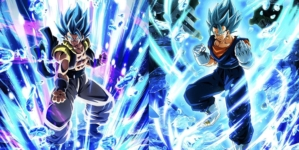 Dragon Ball Z Dokkan Battle – Dragon Ball Legends : Vegetto, Gogeta, Goku Vegeta Super Saiyan Blue