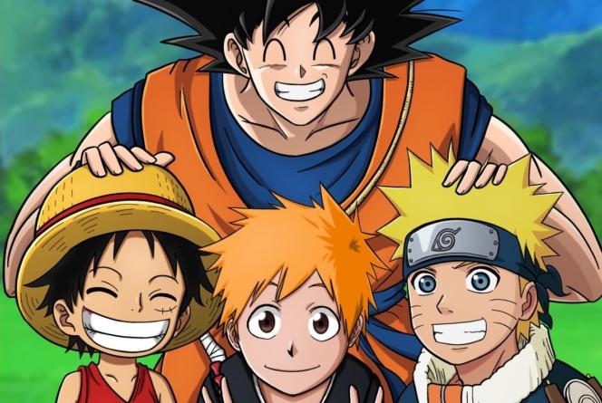 Bleach, Naruto, One Piece et Dragon Ball Super dans le top 20 des animes les plus regardés de l'été 2019