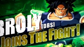 Dragon Ball FighterZ : Broly de Dragon Ball Super se déchaîne dans son trailer