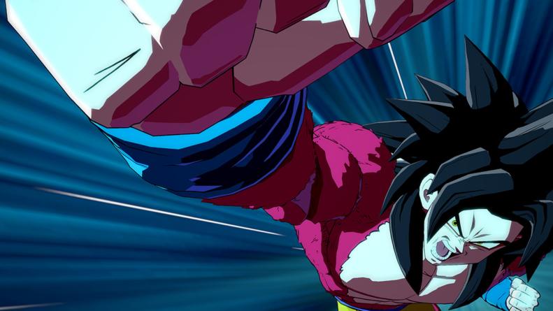 Dragon Ball FighterZ : Trailer de Gokû [GT] et de sa forme Super Saiyan 4 disponible en mai