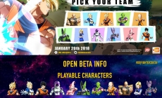 Dragon Ball FighterZ: 11 personnages jouables, 7 Stages et d'autres fonctionnalités disponibles pour l'open bêta du 13 Janvier