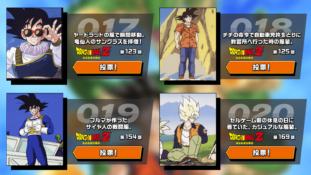 Dragon Ball : Votez pour le Top 30 des costumes de Gokû durant les sagas de l'anime