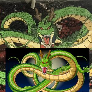 Dragon Ball : Le Paris Saint-Germain remet ça avec un nouveau Tifo de Shenron