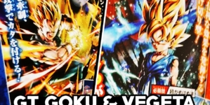 Dragon Ball Legends : Goku petit GT, Vegeta GT et Rild arrivent Sparkings