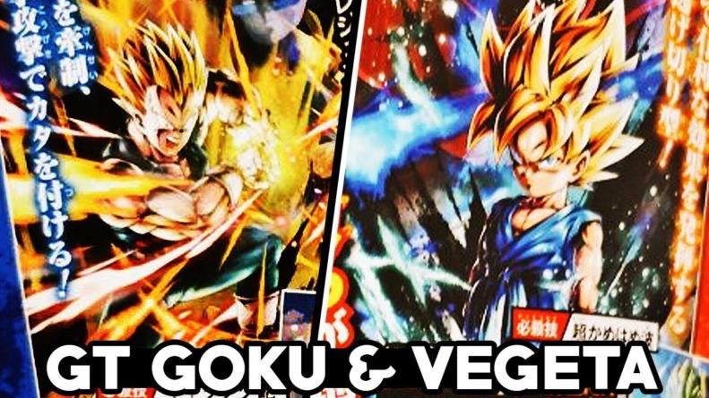 Dragon Ball Legends : Goku petit GT, Vegeta GT et Rild arrivent Sparkings