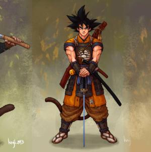 Dragon Ball Samurai : Les héros de Dragon Ball Super à l'ère féodale