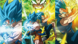 Dragon Ball Super – Broly : L'anime comics du film sort en mai